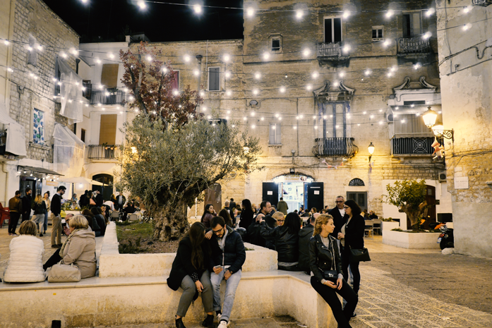 Co zwiedzić w Bari - Piazza degli Innamorati