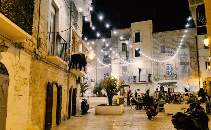 Zima w Bari