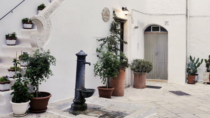 Weekend w Apulii zimą - Locorotondo
