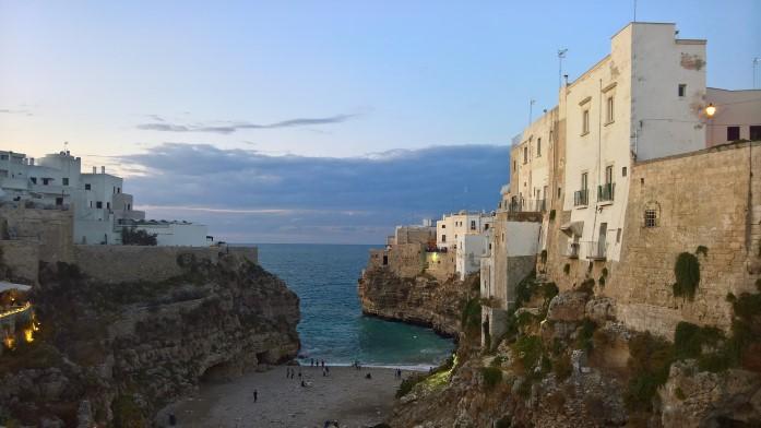 Apulia ciekawe miejsca - Polignano a mre