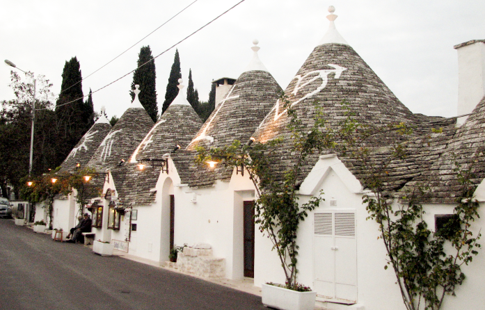 Weekend w Alberobello