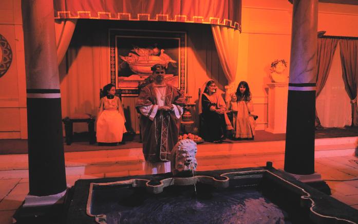 Żywa szopka - dom Heroda