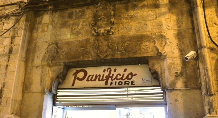 Tanie jedzenie w Bari - Panificio Fiore
