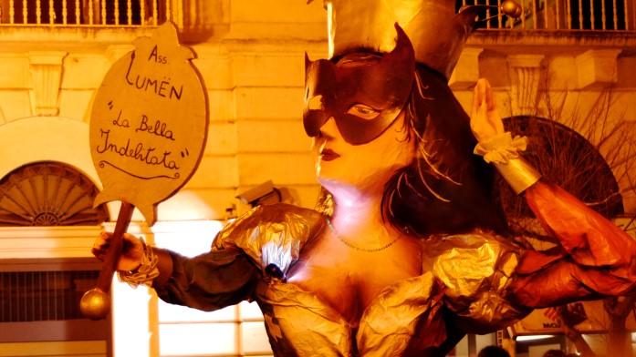 Karnawał - figura kobiety