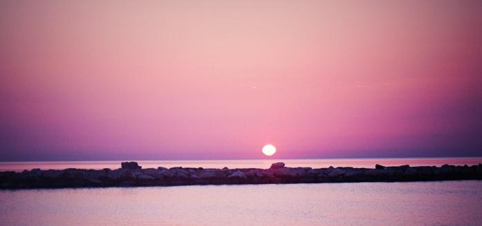 Apulia atrakcje - wschód słońca