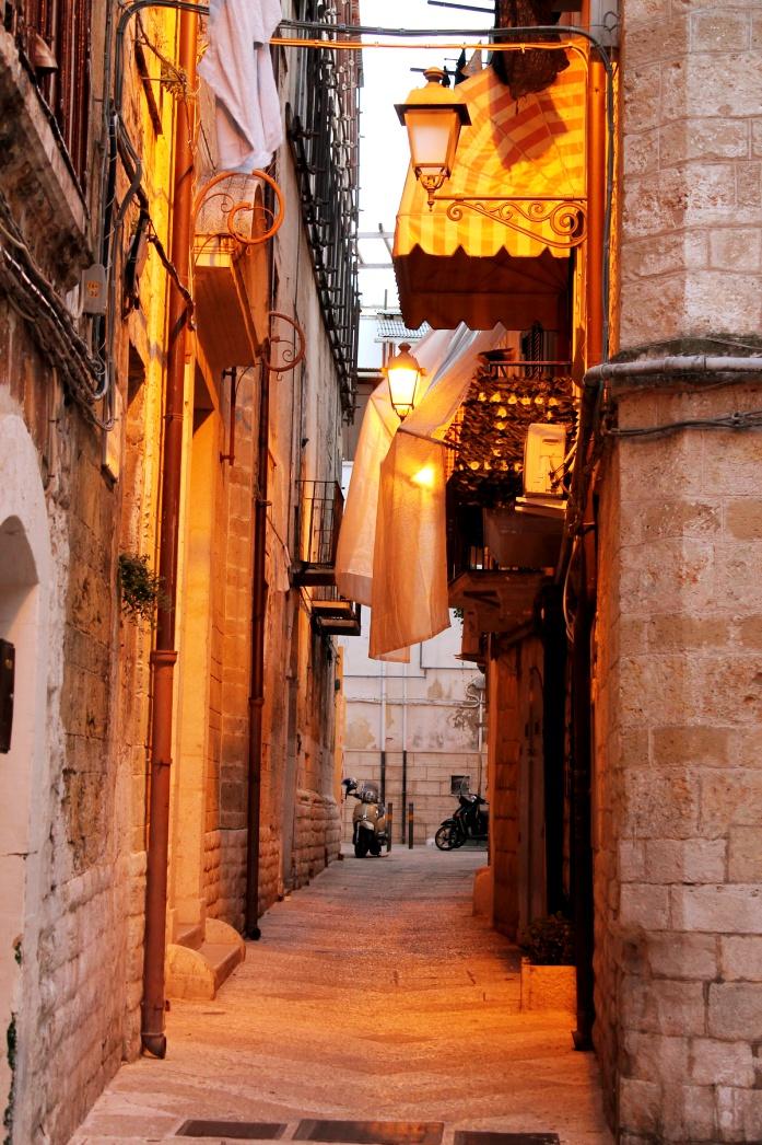 Apulia samochodem - Bari stare miasto