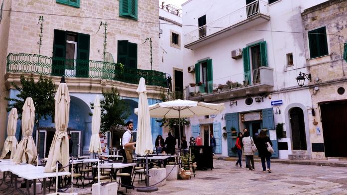Monopoli co zobaczyć - piazza Garibaldi