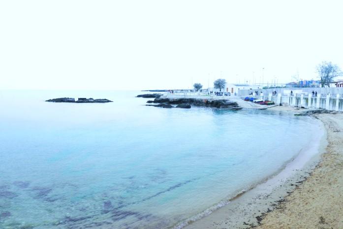 Plaże w Monopoli - Cala Porta Vecchia