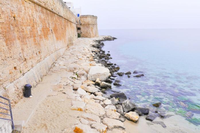 Plaże w Monopoli - Porta Vecchia