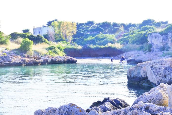 Plaże w Monopoli - Cala Sotttile