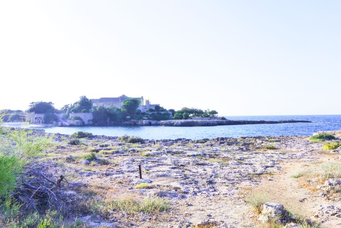 Plaże w Monopoli - Cala Sottile