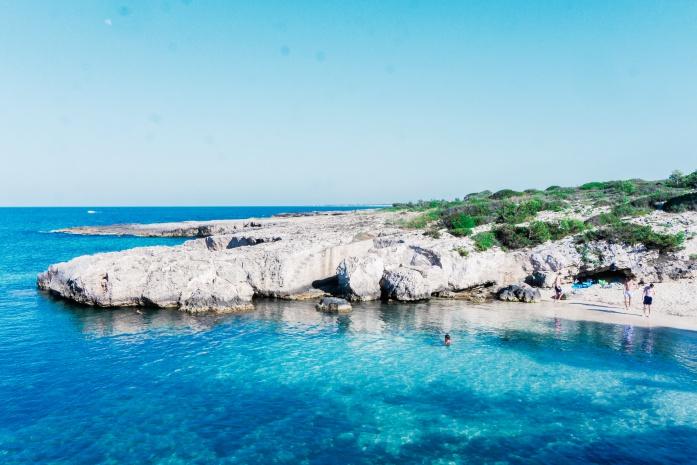 Plaże w Monopoli - Cala Verde
