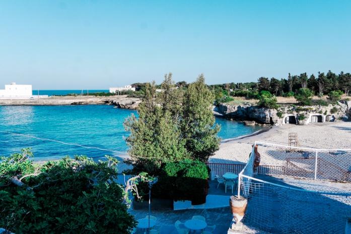 Plaże w Monopoli - Lido Santo Stefano