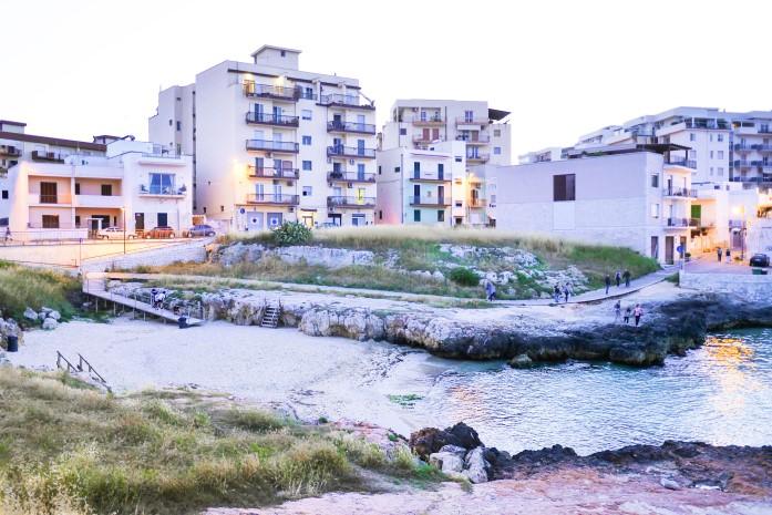 Plaże w Monopoli - Porto Bianco