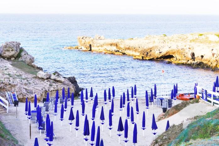 Plaże w Monopoli - Porto Camicia