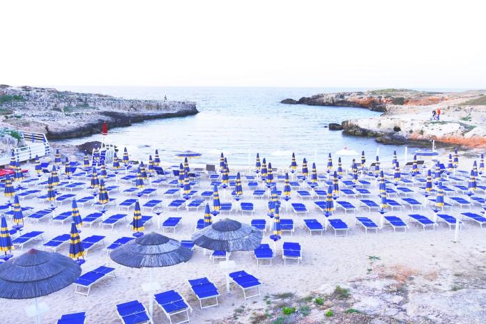 Plaże w Monopoli - Porto Paradiso
