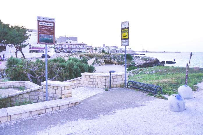 Plaże w Monopoli - Porto Rosso