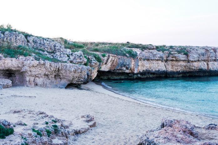 Plaże w Monopoli - Porto Verde