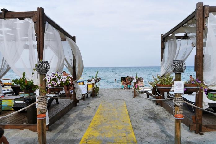 Plaże w Apulii - Laghi Alimini