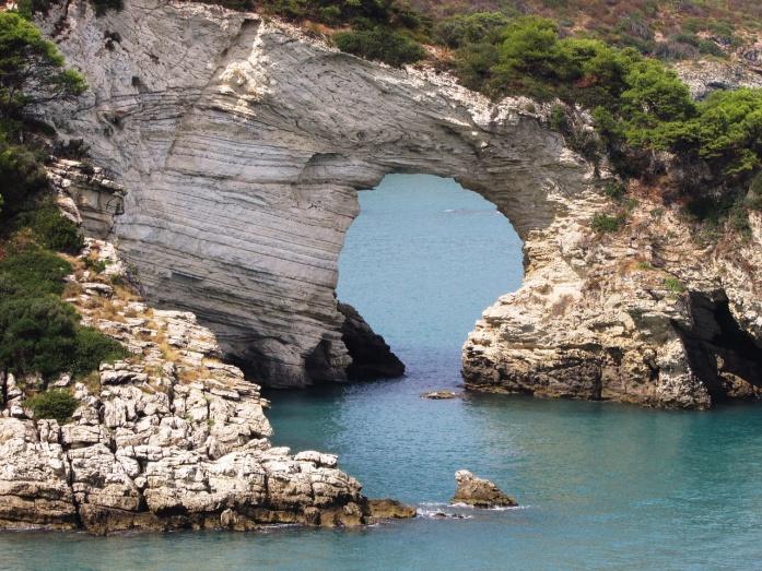 Plaże w Apulii - Vieste w Gargano